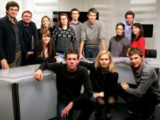Les étudiants journalistes de l'Echo des JECO en 2011